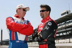 Al Unser Jr. and Michael Andretti