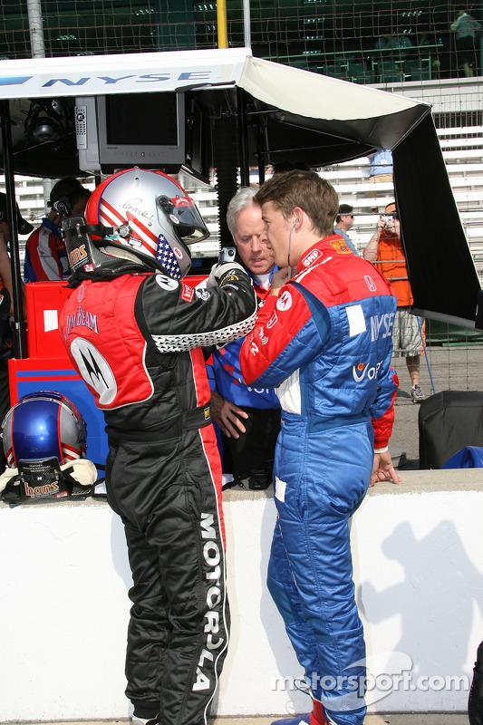 Michael Andretti et Marco Andretti
