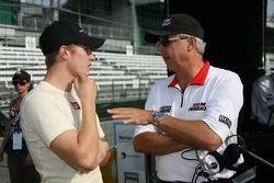 Ryan Briscoe and Rick Mears