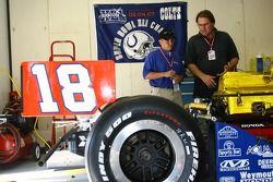 PDM Racing crew members at work