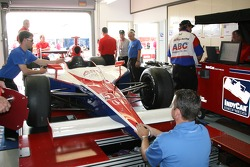 Car of Al Unser Jr. at tech inspection