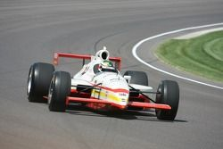 Darren Manning drives the car that Kenny Brack drove to victory for A.J. Foyt in 1999