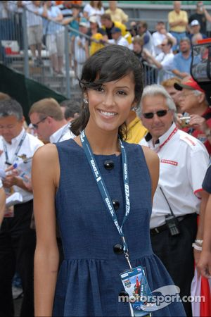 Jaslene Gonzalez of America's Next Top Model