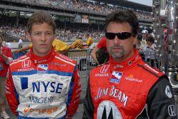 Marco Andretti and Michael Andretti