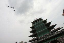 Jets overfly the Pagoda