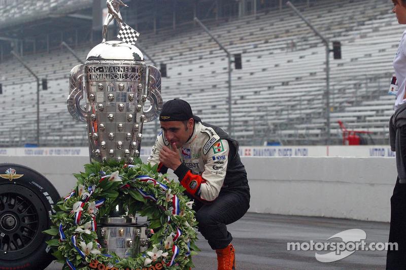 Ganador de la edición de 2007: Dario Franchitti, Dallara/Honda