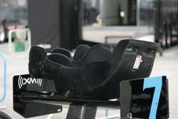 Racing seat of Danica Patrick