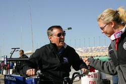 Johnny Rutherford et Sarah Fisher