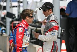 Marco Andretti et Tomas Scheckter