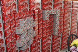 Le numéro de Danica Patrick apparaît dans les produits Coca