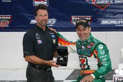 Gagnants cercle: Tony Kanaan et Michael Andretti
