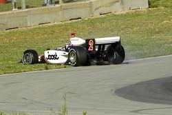 Tête à queue de Tomas Scheckter à l'entrée du virage 5