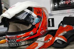 Helmet of Helio Castroneves