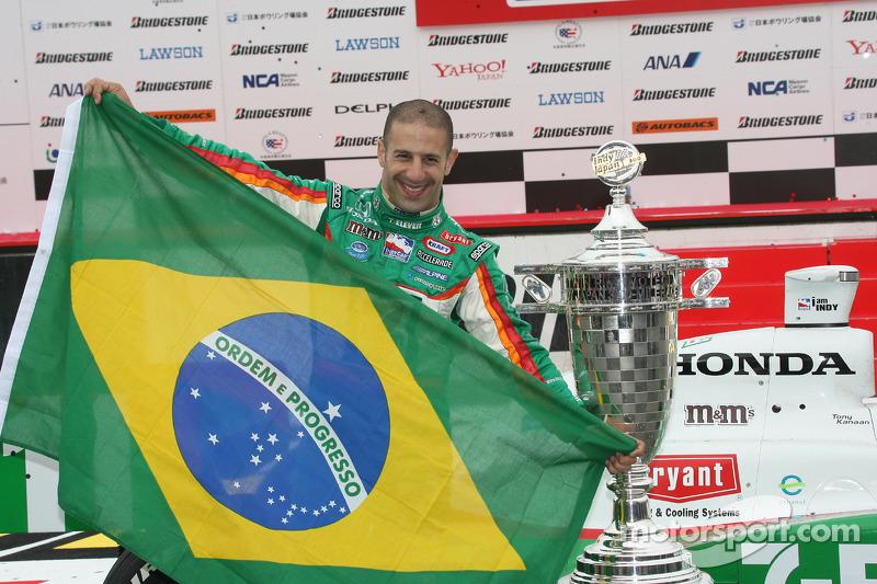 Apesar de ter ficamos 'apenas' na terceira colocação no campeonato, em 2007 Kanaan conseguiu o maior número de vitórias, cinco. A primeira foi em Motegi, no Japão.