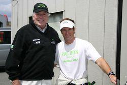 Scott Sharp et son papa
