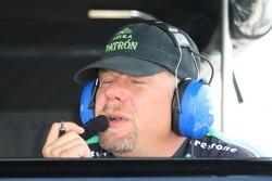 A Rahal Letterman Racing crew member