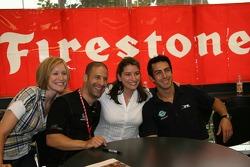 Firestone Corporate Employee Function: Tony Kanaan and Jeff Simmons