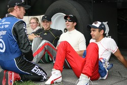 Scott Dixon, Sarah Fisher, Ed Carpenter, Tomas Scheckter and Darren Manning