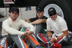 A.J. Foyt IV, Ed Carpenter and Tomas Scheckter