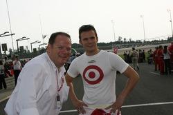 Chip Ganassi and Dan Wheldon