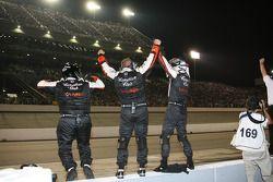 Andretti Green Racing crew members celebrate