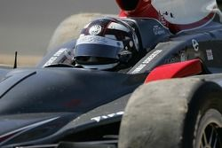 Thomas Scheckter into the grass