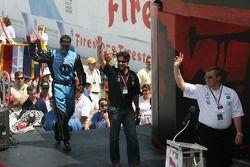 Michael Andretti et Kim Green sont présentés