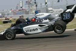 Ed Carpenter accidenté