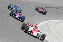 Helio Castroneves, Marco Andretti, Scott Dixon and Kosuke Matsuura