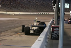 Jon Herb loses control coming into for a pit stop