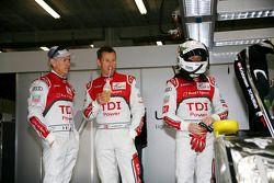 Rinaldo Capello, Tom Kristensen en Allan McNish