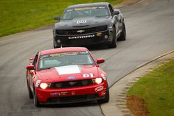 #61 Roush Performance Mustang Boss 302R: Billy Johnson, Jack Roush Jr.