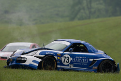 #73 DeMan Motorsport Boxster: Rick DeMan, David Murry na crash
