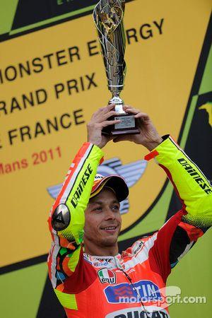 Podium: third place Valentino Rossi