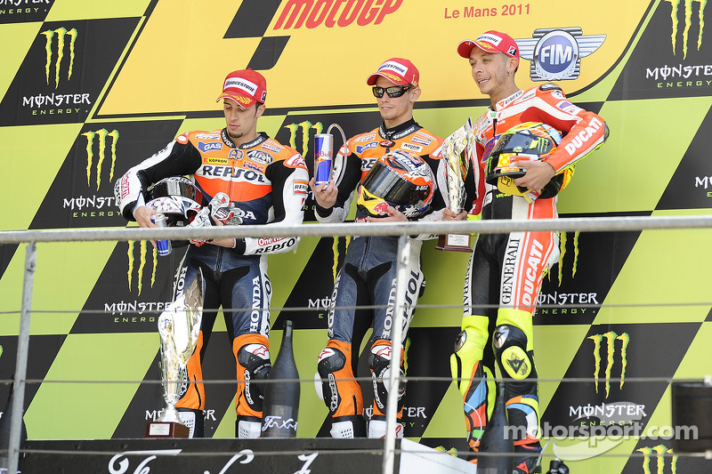 France 2011 - Trois podiums comme seul pain blanc