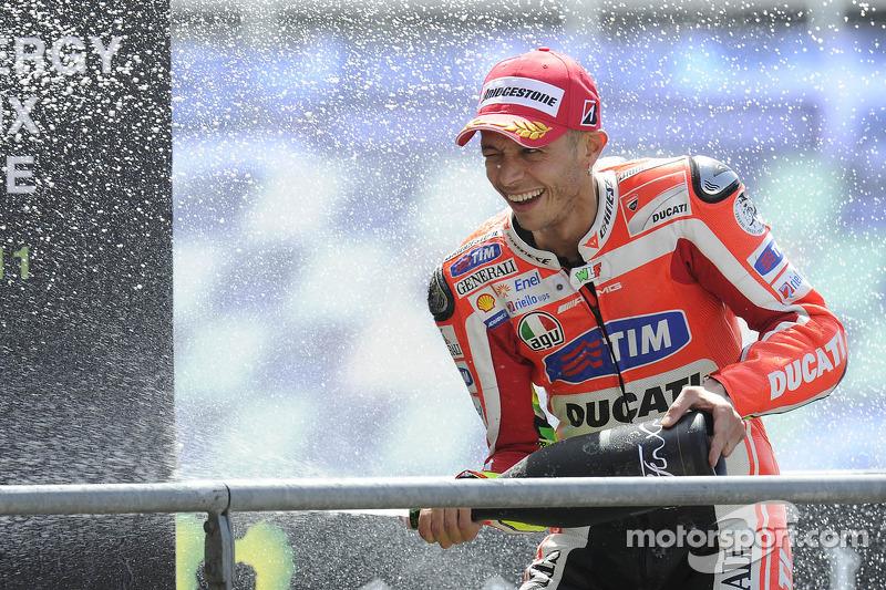 Le Mans 2011: el único podio en el primer año con Ducati