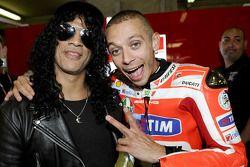 Valentino Rossi en Slash