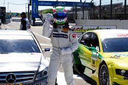 Auf dem ersten Startplatz: Bruno Spengler, Team HWA AMG Mercedes, AMG Mercedes C-Klasse