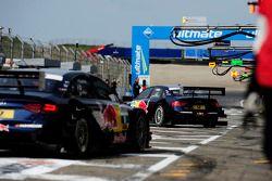 Miguel Molina, Audi Sport Team Abt Junior, Audi A4 DTM, und Mattias Ekstrom, Audi Sport Team Abt Spo