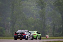#83 BGB Motorsports Porsche Cayman S: Guy Cosmo, Stewart Tetreault, #45 Fall-Line Motorsports BMW M3