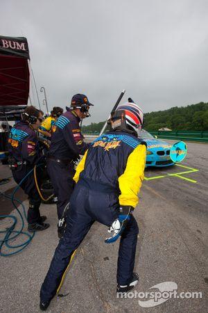 Arrêt au stand pour #13 Rum Bum Racing BMW M3 Coupe: Nick Longhi, Matt Plumb