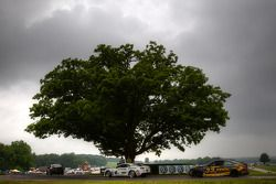 #6 Mitchum Motorsports Camaro GS.R: Jeff Bucknum, Robert Stout, #33 Kinetic Motorsports BMW M3 Coupe