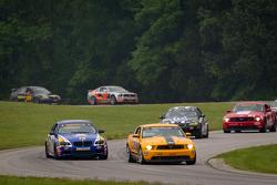 #15 Multimatic Motorsports Mustang Boss 302R: Joe Foster, Scott Maxwell, #79 BimmerWorld Racing BMW M3 Coupe: James Clay, Seth Thomas