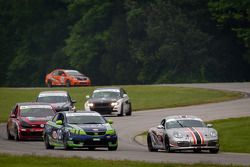 #09 Trade Manage Racing Boxster: Steven Goldman, Sam Schultz, #10 Kinetic Motorsports KIA Forte Koup
