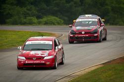 #67 CA Sport Honda Civic SI: Vesko Kozarov, Lara Tallman