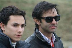 Pipo Derani with Antonio Pizzonia