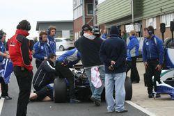 Trying to fix Rupert Svendsen-Cook's car