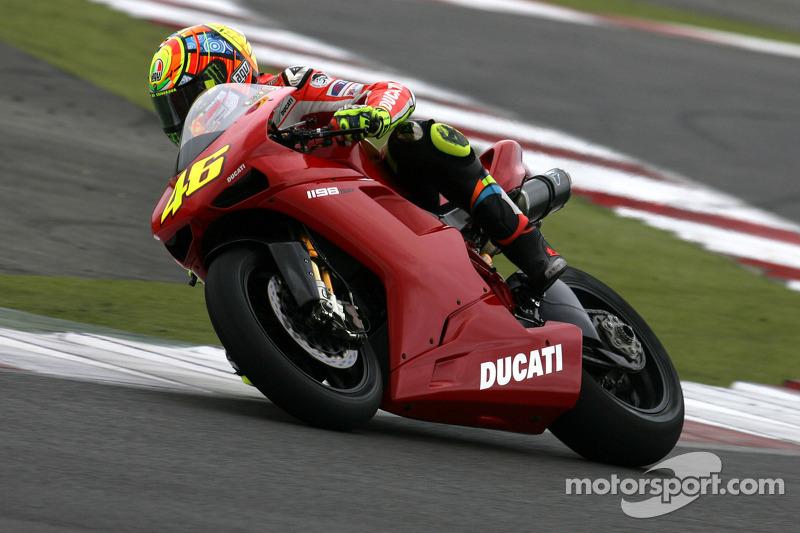 Ducati 1198 (Test Silverstone 2011)