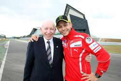 John Surtees and Valentino Rossi