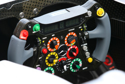 Mercedes GP steering wheels